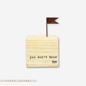 Cubo - you don't know me