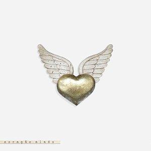 Coração Alado - Ouro