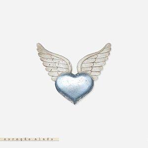 Coração Alado - Prata
