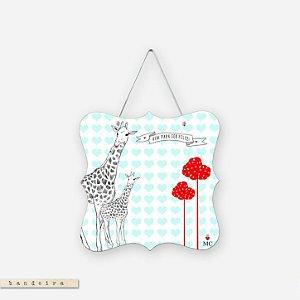 Bandeira - Vim Para Ser Feliz Girafa