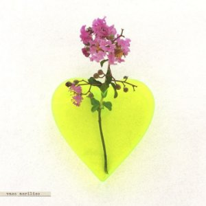Vaso Acrílico - Coração #2 Verde