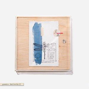 Quadro Galleria - Libélula Azul