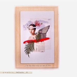 Quadro Galleria M - Caroline Take these broken wings