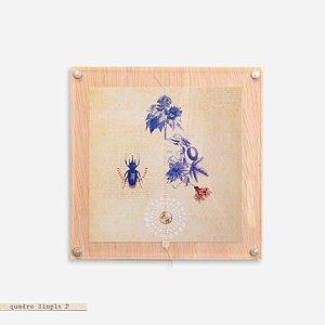 Quadro Simple M - Botânica Escaravelho