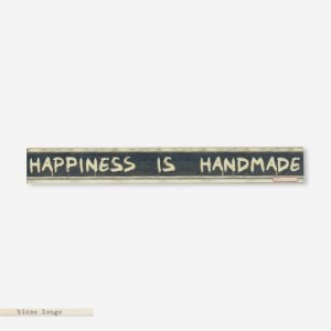 Bloco longo Happiness is Handmade