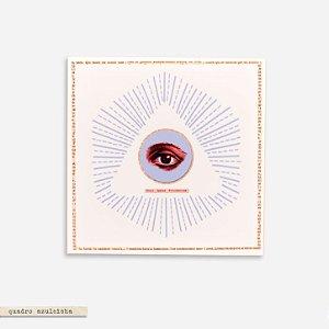 Quadro Azuleicha - Olho