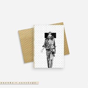 Cartão Envelope - Queen of Fucking Everything