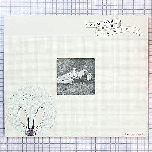 Porta Retrato Rabbit - Vim pra ser feliz