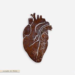 Coração Anatômico em Ferro G