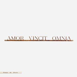 Frase de Ferro - Amor Vincit Omnia
