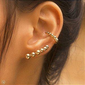 Ear Cuff Esferas Lisas
