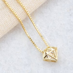 Colar Diamante de Luz