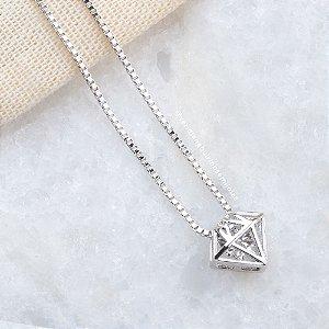 Diamante com Ponto de Luz