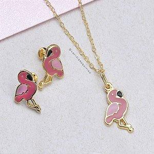 Conjunto Infantil Flamingo