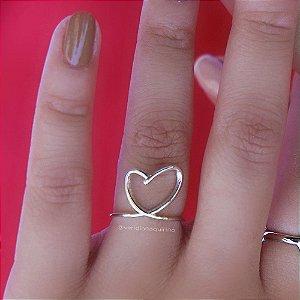 Anel Coração