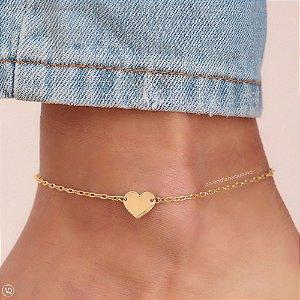 Tornozeleira de Coração