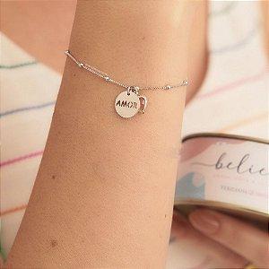 Pulseira Believe Amor