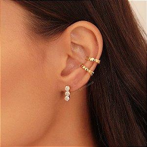 Ear Cuff Zircônias
