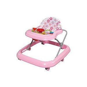 Andador De Bebê Toy Com Regulagem De Altura Até 15kg Rosa Tutti Baby