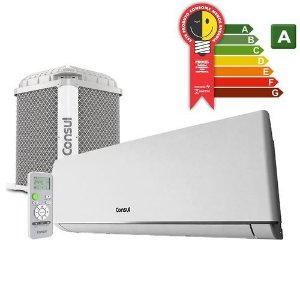 Ar Condicionado Split Consul On/Off 9000 Btus Ciclo Frio Classe A Branco 220 Volts [CBN09BBBNA]