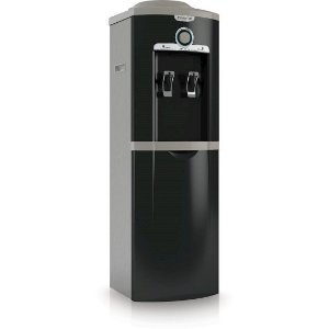 Bebedouro de Coluna Esmaltec 2 Temperaturas Alças Laterais Controle Gradual de Temperatura 127 Volts Preto/Cinza [EGC35B]