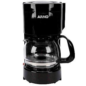 Cafeteira Elétrica Arno Perfectta Sistema Corta Pingos 12 Xícaras 600ml Preto [CAFP]
