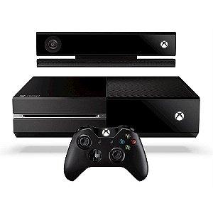 Console X-BOX ONE HD 500GB + Kinect HDMI Controle Sem fio Preto [P38120039]