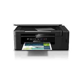 Impressora Multifuncional Epson L395 Eco Tank Wi-Fi USB Preta [BRCF46302]