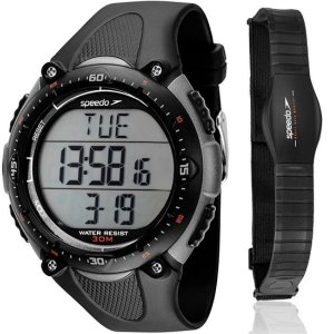 Kit Relógio Speedo Masculino Monitor Cardíaco 80565G0EPNP2