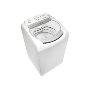 Lavadora Brastemp 9KG Display Digital Enxágue Duplo Ciclo Tira Manchas 8 Programas de Lavagem Branca 127 Volts [BWJ09ABANA]
