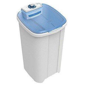 Lavadora de Roupas 10 kg Branca Newmaq Tampa Azul