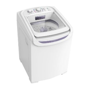 Maquina de lavar Electrolux 15KG Turbo Economia 12 Programas de Lavagem Branca 127 Volts [LTD15]