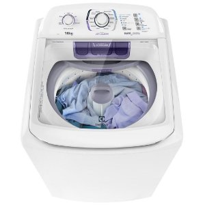 Lavadora Electrolux 16KG Ciclo Silencioso Dispenser Autolimpante 12 Programas de Lavagem Branca 127 Volts [LAC16]