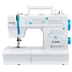 Máquina de Costura Elgin Genius Plus 31 Pontos 127 Volts Branco [JX-4035]