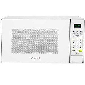 Micro-ondas Consul 30L Menu Descongelar Trava de Segurança Branco 127 Volts [CMW30ABANA]