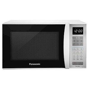 Micro-ondas Panasonic Piccolo 25L Trava de Segurança Branco 127 Volts [NN-ST354WRUN]