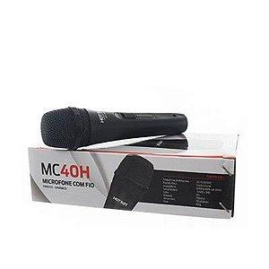 Microfone Com Fio Hot Sat MC40H Preto