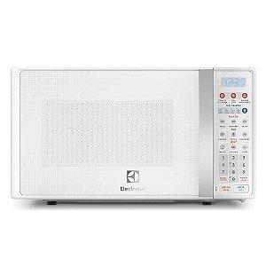 Microondas Electrolux 20L Com Função Tira Odor e Descongelar Trava de Segurança Branco 127 Volts