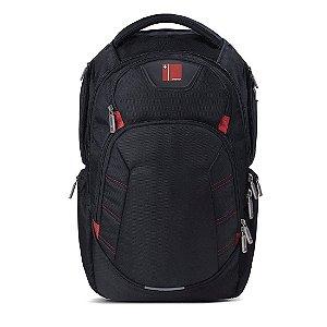 """Mochila Multilaser p/ Notebook até 15,6"""" Swisspack Large Preta [BO410]"""