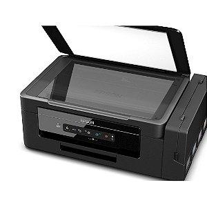 Multifuncional Epson EcoTank Wireless Impressora Copiadora Scanner Preta [L395]