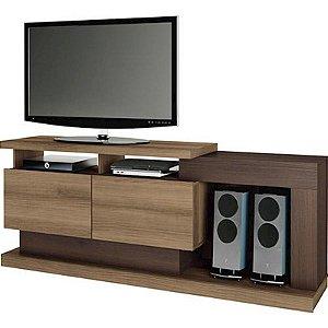 "Rack Linea Fusion Suporta TVs Até 55"" 2 Portas"