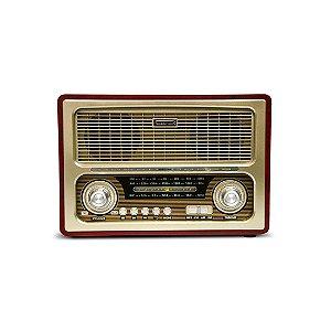 Radio Hot Sat Portatil Telespark Admiral Bluetooth FM USB Bivolt [2817]