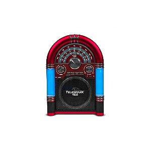 Radio Hot Sat Portatil Telespark Vegas AM/FM/USB/Cart?o SD Bluetooth Bivolt [3218]