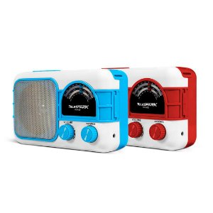 Radio Hot Sat Telespark Home Bluetooth FM USB Azul Bivolt [HOME BR AZ]