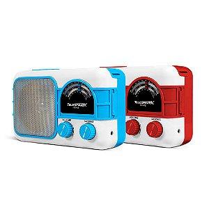 Radio Hot Sat Telespark Home Bluetooth FM USB Vermelho Bivolt [HOME BR VM]