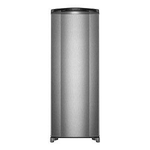 Refrigerador Consul 342L 1 Porta Frost Free 127 Volts Classe A Inox [CRB39AK]