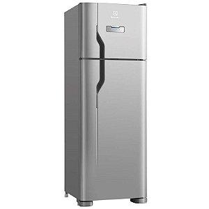 Refrigerador Duplex Electrolux 310L Frost Free Painel Blue Touch 127 Volts Classe A Inox [DFX39]