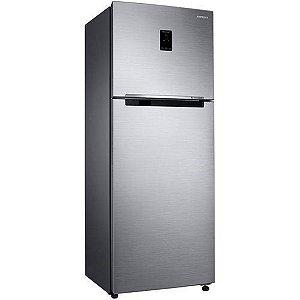 Refrigerador Frost Free Samsung 384l Rt38k Top Mount Freezer 127v, Inox