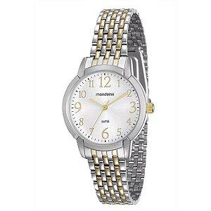 Relógio Feminino Mondaine Analógico Bicolor