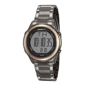 Relógio Speedo Feminino Preto e Dourado